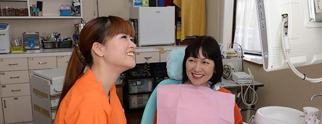 歯周病と予防  基本は歯ブラシで(爪楊枝法)