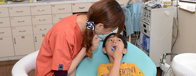 小児歯科 虫歯の治療